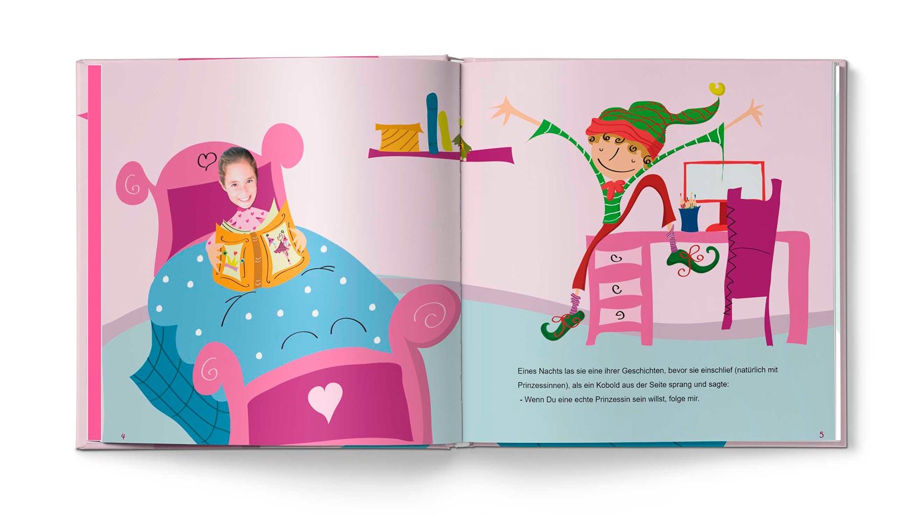 Geschichte Die Prinzessin und das Pflaster - Bild 2