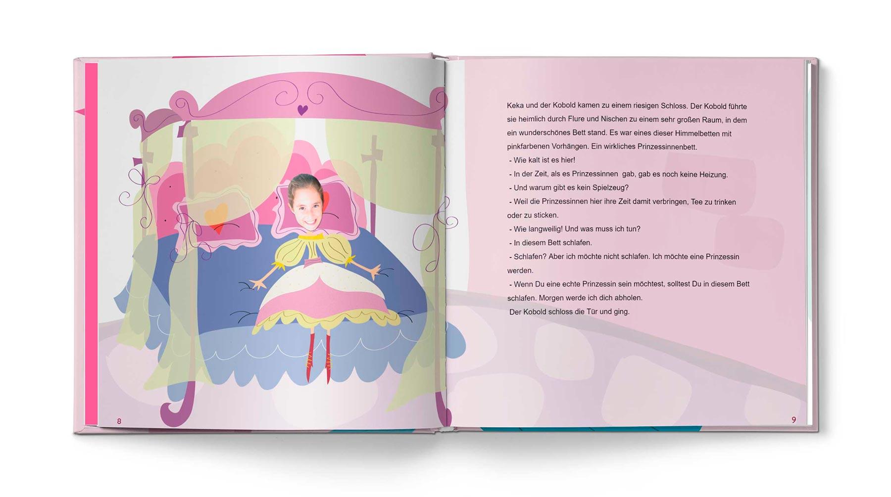 Geschichte Die Prinzessin und das Pflaster - Bild 4