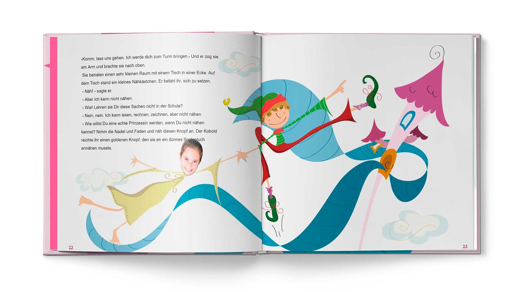 Geschichte Die Prinzessin und das Pflaster - Bild 6