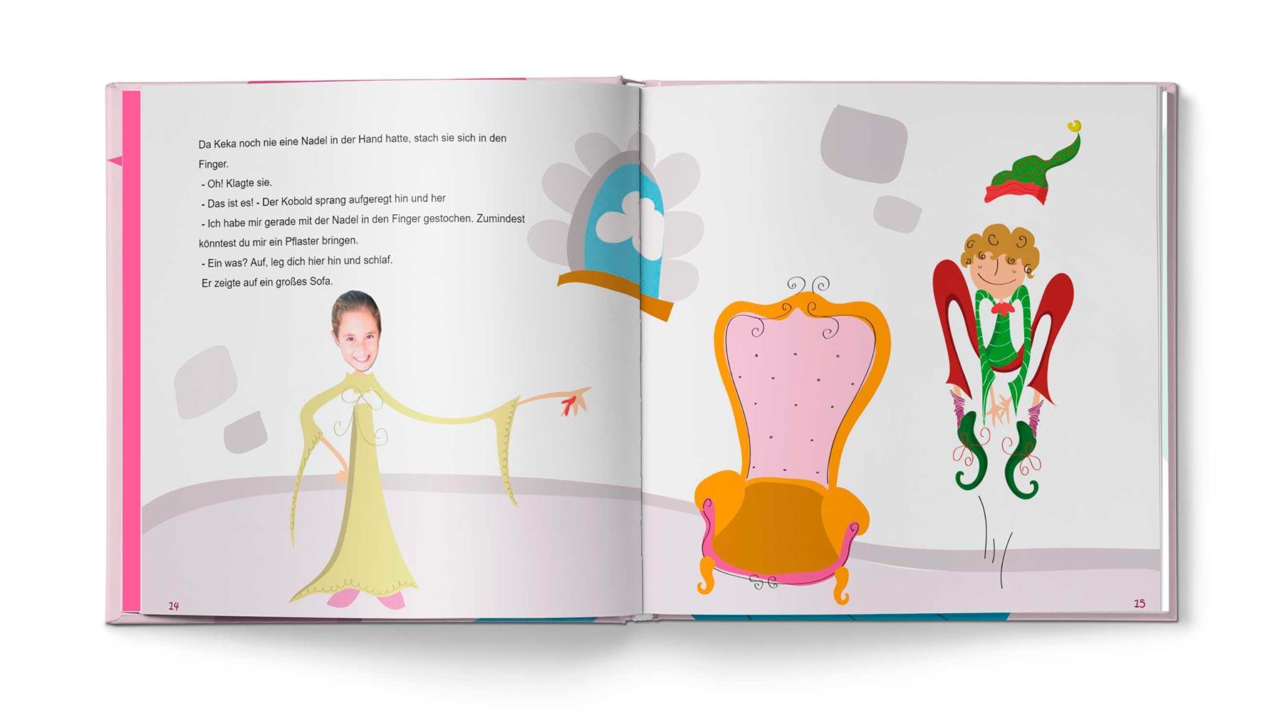 Geschichte Die Prinzessin und das Pflaster - Bild 7