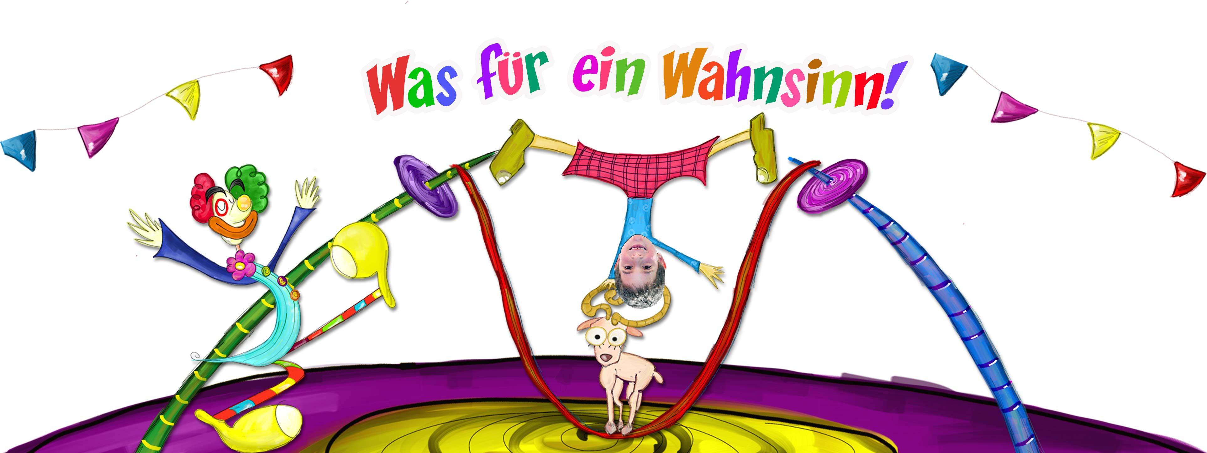 Personalisierte kinderbücher: Zirkus und seiner Tiere - Produkt- Kopfzeile