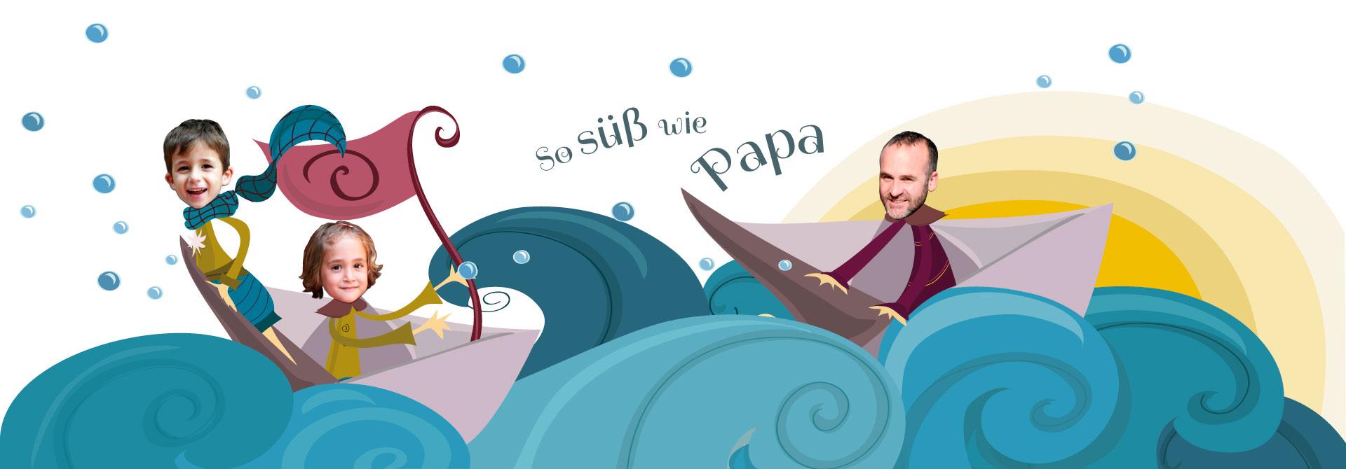 Originelles Geschenk zum Vatertag | Ich habe ein Foto für Papa - Produkt- Kopfzeile